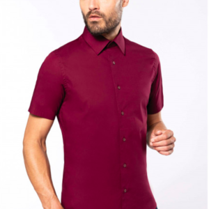 Chemise homme manches courtes K531