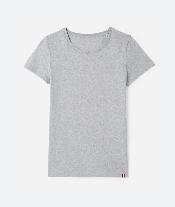 T-shirt femme fabrique en France